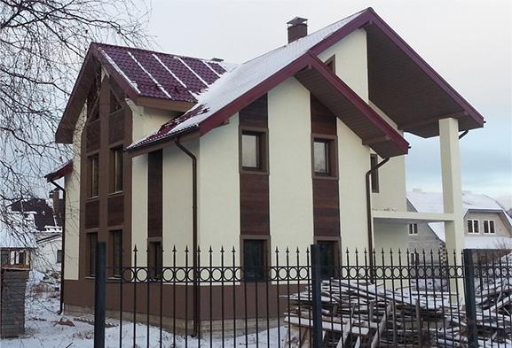 Газобетонный дом в поселке Зеленая Роща